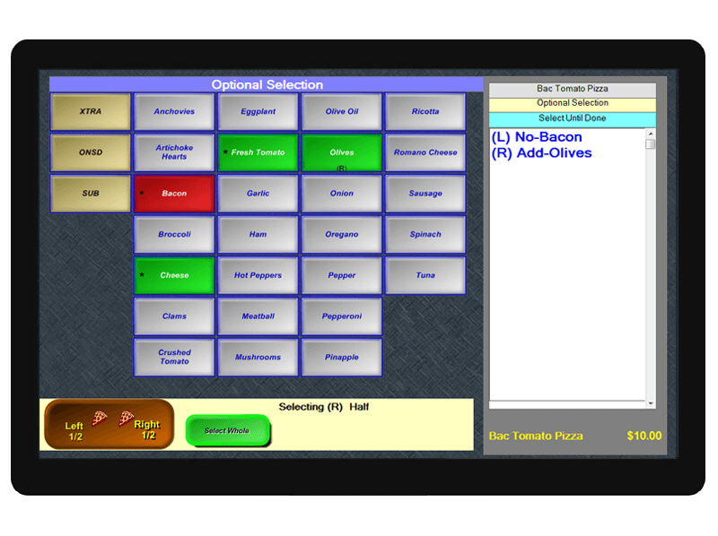 POS system delivery
